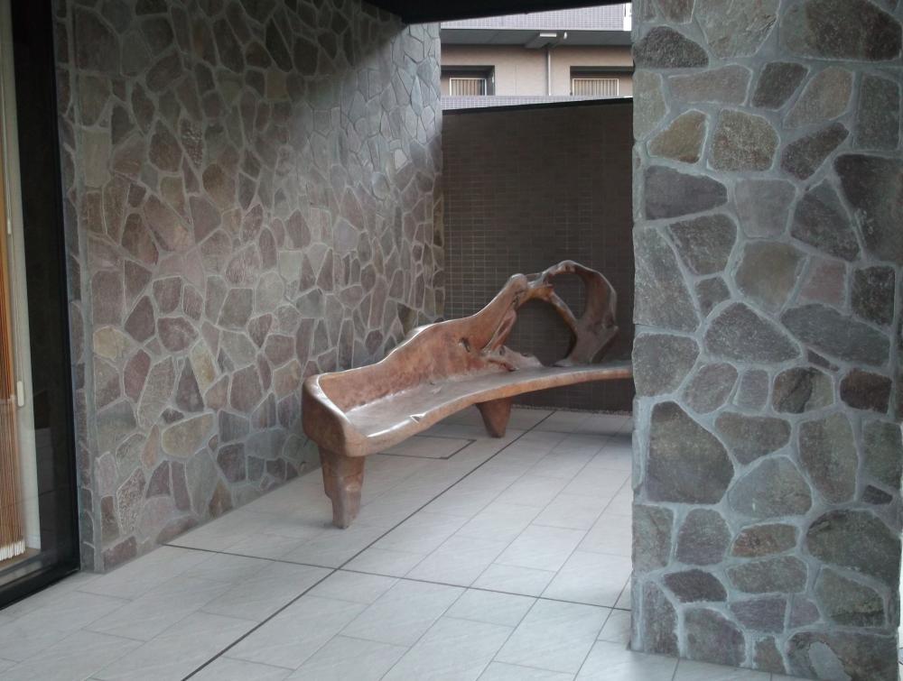 ジャワ鉄平 外壁施工例